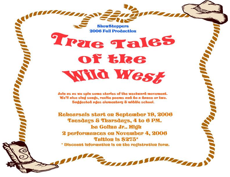 2007 True Tales of the Wild West  - WildWest.jpg