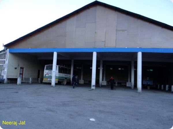 Kaza Bus stand