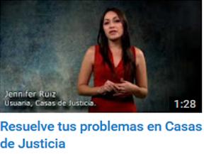 Resuelve tus problemas en Casas de Justicia
