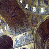 71. Byzantine Style mosaics. XI-XIII Century. The Patriarchal Cathedral Basilica of Saint Mark. Venice. 2013