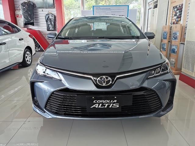 Photos: 2020 Toyota COROLLA ALTIS 1.6G AT - Gray Metallic