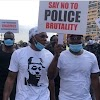 "Runtown & Falz Lead The ''End SARS"" Protest In Lagos"