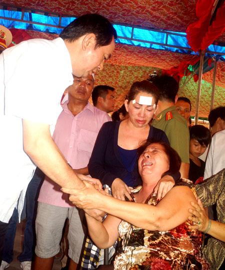 Bo truong Tran Dai Quang chia se noi dau cua gia dinh Anh Nguyet Trieu