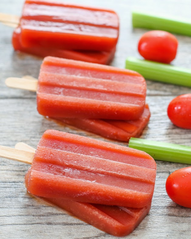 Bloody Mary Ice Pops