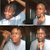 Make-up artist paints her face to look like BBNaija star, Laycon