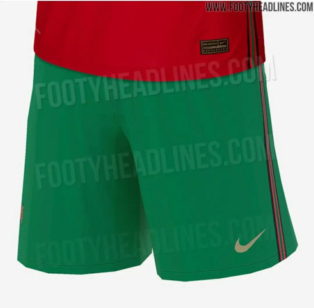 Bocoran Jersey Portugal Home Euro 2020