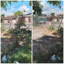 BARAHONA: En condiciones deplorables está complejo deportivo de Villa Central.