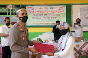 Program Senin Sedekah, Polres Soppeng Salurkan Bantuan Puluhan Juta Kepada MTS DDI Pattojo Ponpes Al-Irsyad