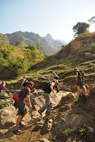Annapurna Circuit Day 2 - Jagat to Dharapani