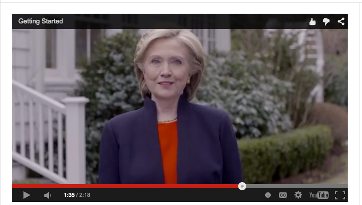 Clinton campaign seriously botches, then removes video