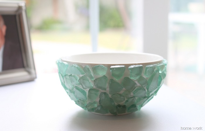 Sea Glass Succulent Bowl - homework (4)