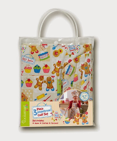 Gingerbread Chef Set £5.99