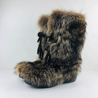 Racoon Snow Boots