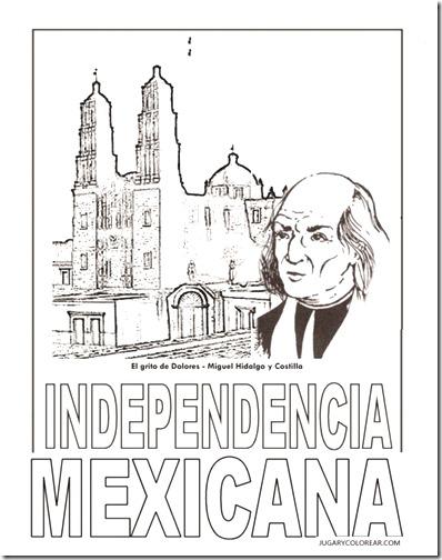 Independencia De México Para Niños Colorear Tus Dibujos
