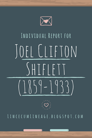 Individual Report - JCShiflett