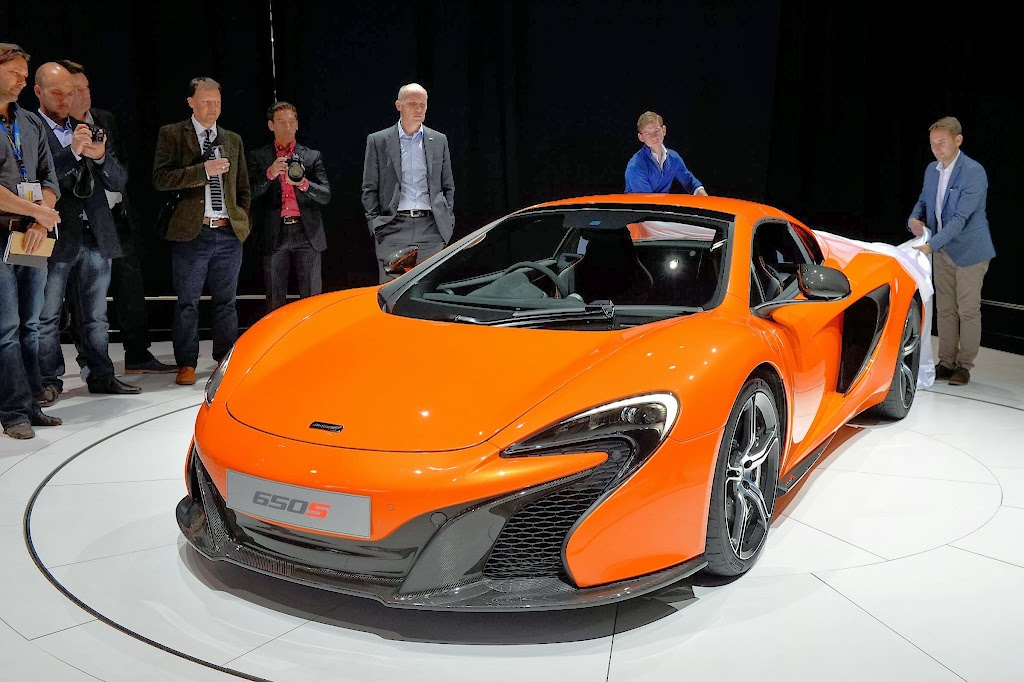 McLaren 650S Spider Geneva Motor Show 19