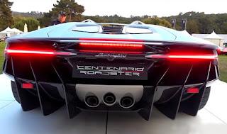 Lamborghini Centenario Roadster LP770-4