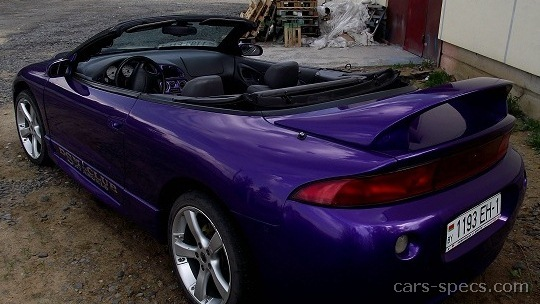 1997 mitsubishi eclipse spyder gs t specifications pictures prices. Black Bedroom Furniture Sets. Home Design Ideas