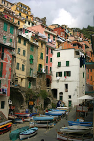 Riomaggiore from along the water