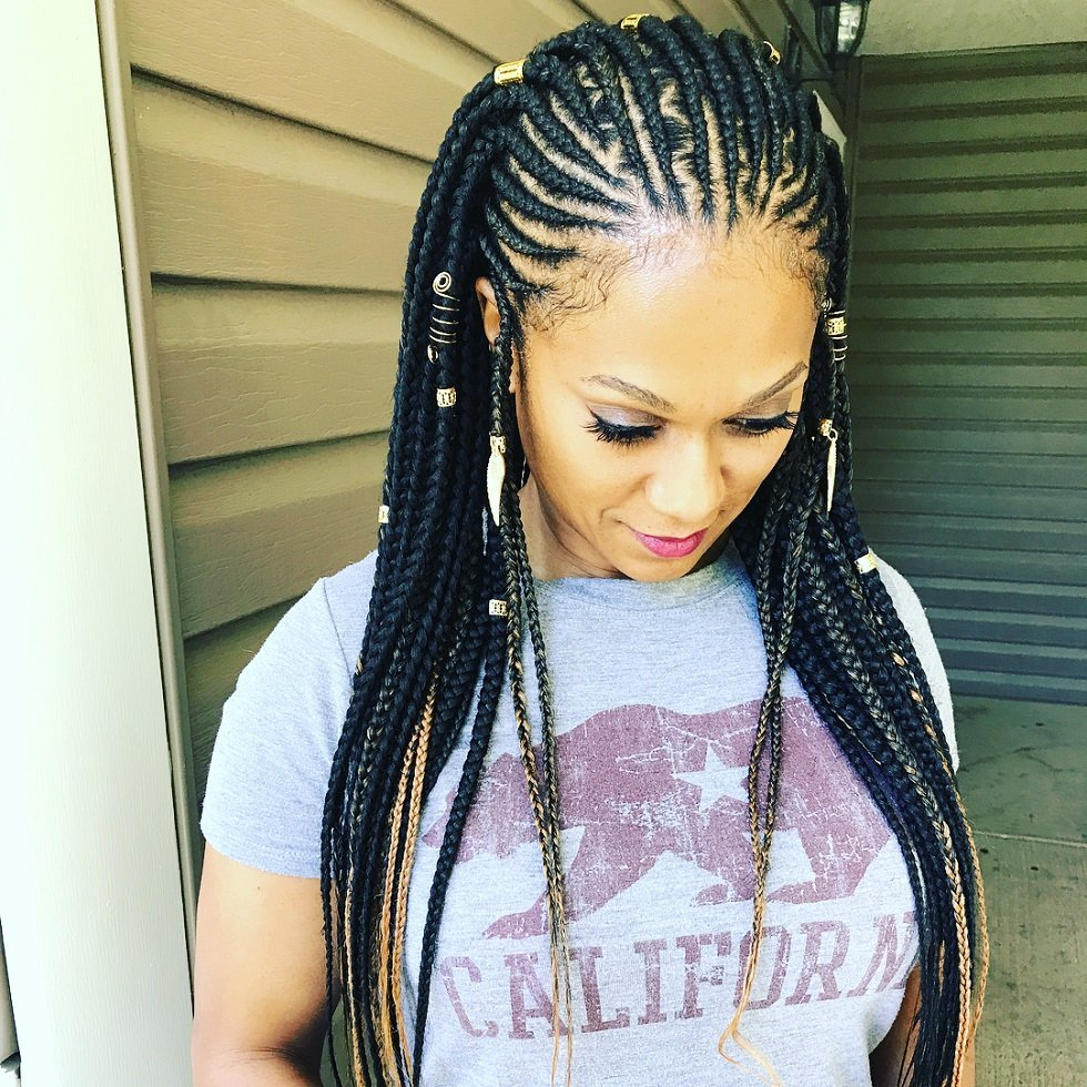 Popular Ghana Cornrow Box Braids Fashionre