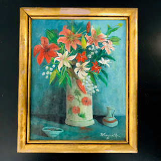 Pomerantz Signed Still Life Painting