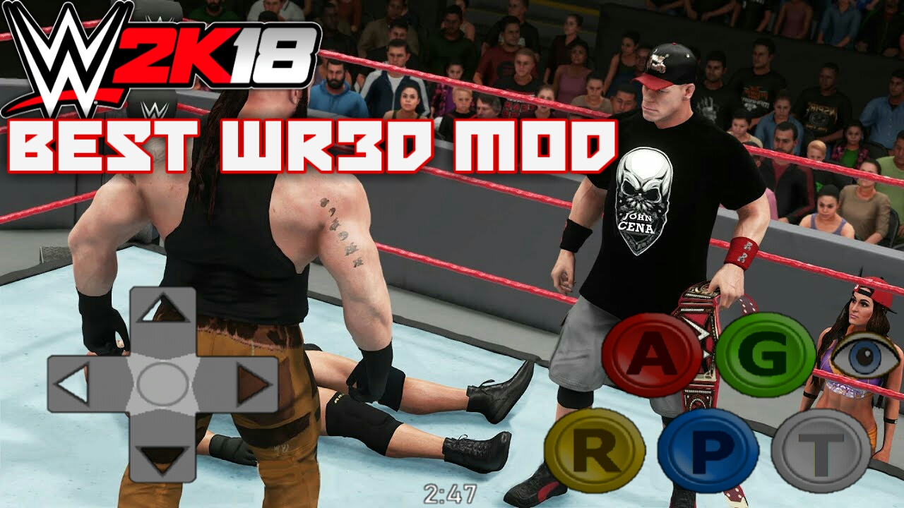 download wr3d wwe 2k17 mod apk file