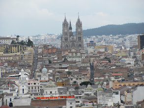 Photo: Basilica del voto national  in Quito