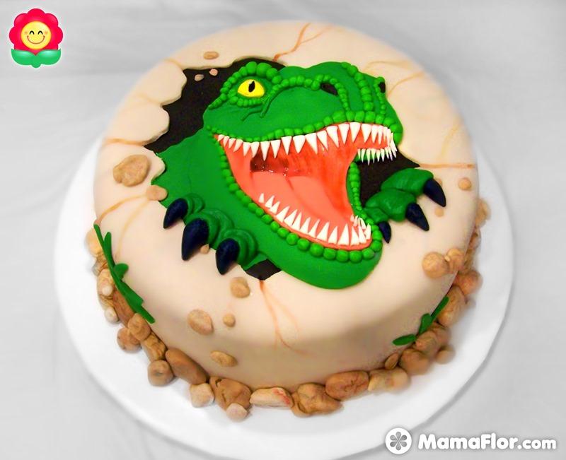 fiesta-tortas-pastel-dinosaurio-decoradas