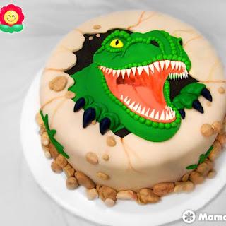 Tortas de DINOSAURIOS - ¡Los 20 mejores pasteles!