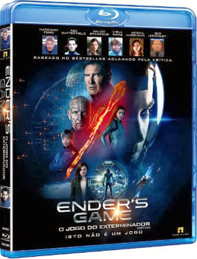 Filme Poster Ender's Game – O Jogo do Exterminador BRRip XviD Dual Audio & RMVB Dublado