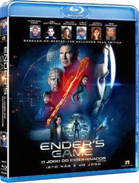 Filme Poster Ender's Game – O Jogo do Exterminador BRRip XviD Dual Audio & RMVB Dublado