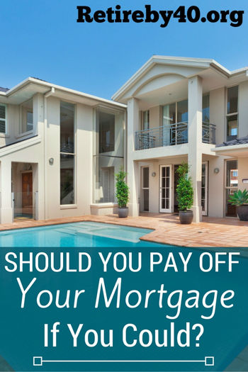 Should you pay off your mortgage if you could?