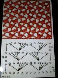 Vest 00 Crochet schema
