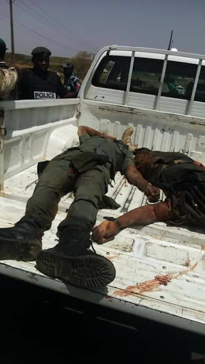 Soldiers Killed After Attack On Military Convoy By Fulani Herdsmen (Graphic Photo)