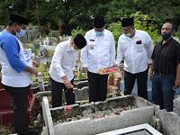 AMAN Berziarah Ke Makam  Pendiri Al Jam'iyatul Washliyah