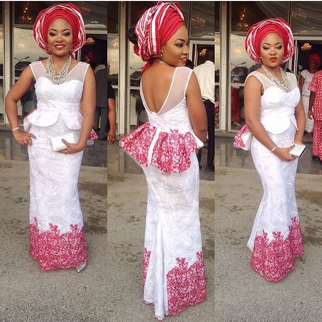Latest Lace Styles In Nigeria 2016 Fashionte
