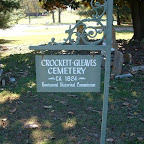 Crockett - Gleaves Cemetery Brentwood,Tennessee