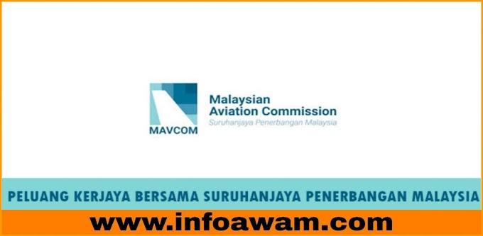 Jawatan Kosong Terkini Di Suruhanjaya Penerbangan Malaysia
