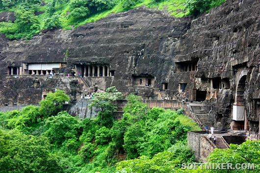 Inde - Grottes d'Ajanta