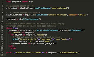 error encountered: