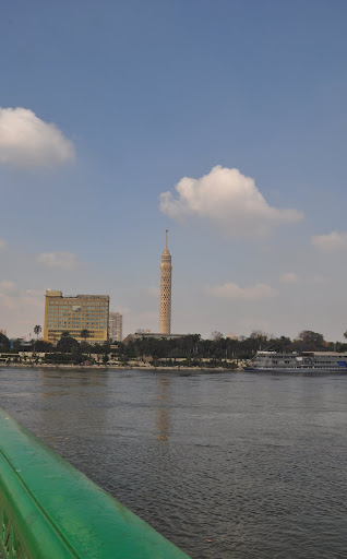 Cairo Tower and the Nile