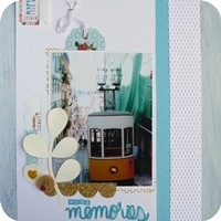 17 - sizzix big shot plus - scrapbookig layout - fustelle