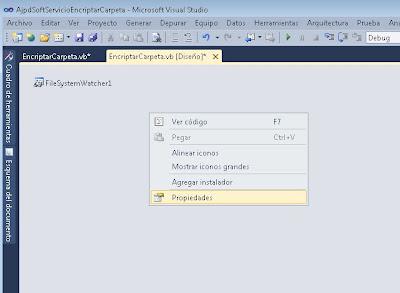 Desarrollar o implementar un servicio de Windows con Visual Basic .Net