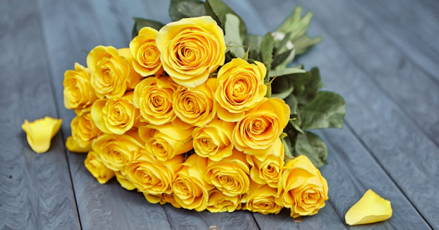 Yellow Roses Bouquet - WIthlovenregards