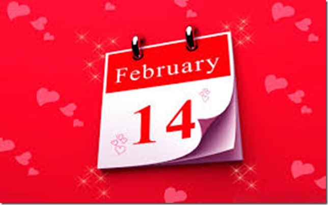 14 Feb Valentine's day