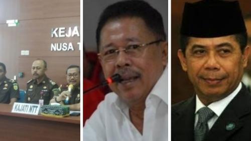 Kajati NTT Ungkap Status Gories Mere dan Karni Ilyas dalam Kasus Dugaan Korupsi Tanah Rp 3 T di Labuan Bajo.