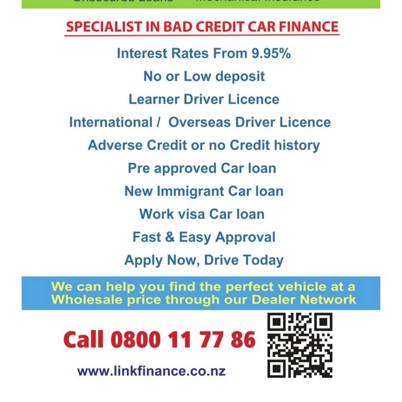 Link Finance Limited - Car Finance and Car insurance Company