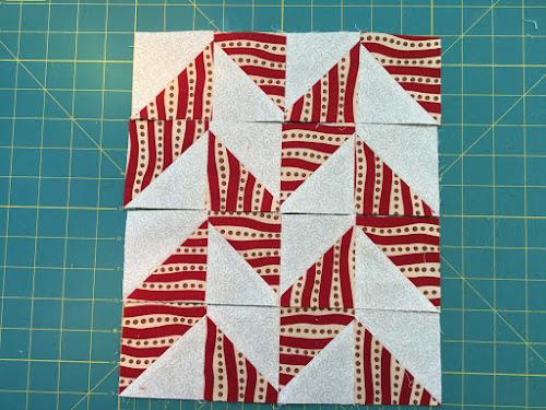 Block 5: 16 HST quilt sampler