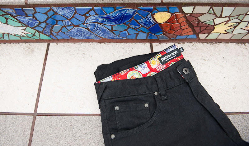 Men's DoD Britches Product Shoot Outside