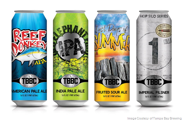 Tampa Bay Brewing Launching New Cans